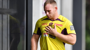 Matthew Lodge has been cleared of a serious rib injury.