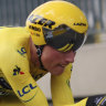 Teunissen retains yellow jersey as Jumbo-Visna win team time trial