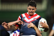 Raring to go: Latrell Mitchell has been the subject of a lot of speculation but Friday night looms as a chance to do his talking on the field.