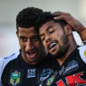 During NRL's off-season from hell, Kikau gets one back for good guys