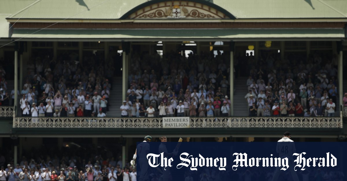 Sydney holds on to New Year's Test at the SCG after frantic discussions – Sydney Morning Herald
