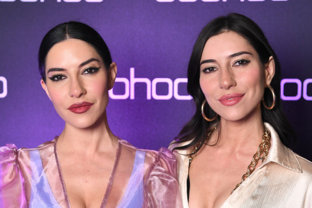 The Veronicas: Jessica Origliasso and Lisa Origliasso.