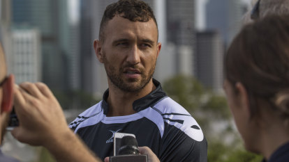 Quade Cooper out with knee injury