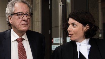 Geoffrey Rush defamation barrister joins coveted rank of silks