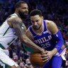 Embiid, Simmons rally Philadelphia to beat Celtics