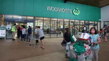 Woolworths has outperformed Coles in the early stages of 2021.