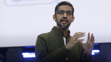 Google chief Sundar Pichai will take on the CEO role at Alphabet.