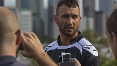 Club land: Cheika has backed Brad Thorn's call on Quade Cooper