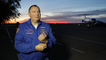 Director General of the Russia state corporation Roscosmos Dmitry Rogozin.