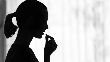 The majority of self harm posionings were in girls, the research found.