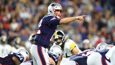 The evergreen Tom Brady was at his best in the Patriots' 33-3 opening-weekend rout of Pittsburgh.