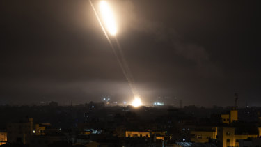 Rockets continue to launce from Gaza Strip into Israel.