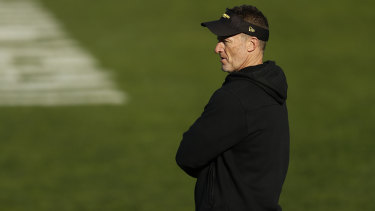Richmond coach Damien Hardwick.
