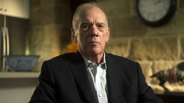 Mike Willesee on Australian Story in 2017.