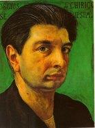 Giorgio de Chirico's Self-portrait, 1920.