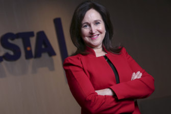 HESTA chief executive Debby Blakey says it's time for Australian gas and oil companies to do more.