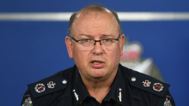 Police Chief Commissioner Graham Ashton is among senior officers caught up in the Informer 3838 scandal.