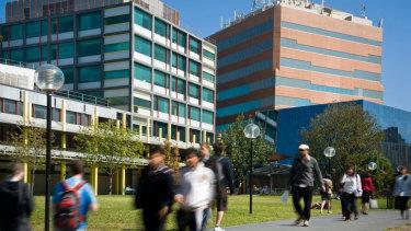 Caulfield Campus, Monash University.