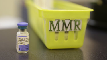 New Zealand authorities are scrambling to provide enough doses of a measles, mumps and rubella vaccine.
