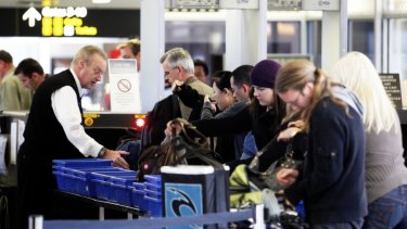 New technology promises to improve security clearance times at airports.