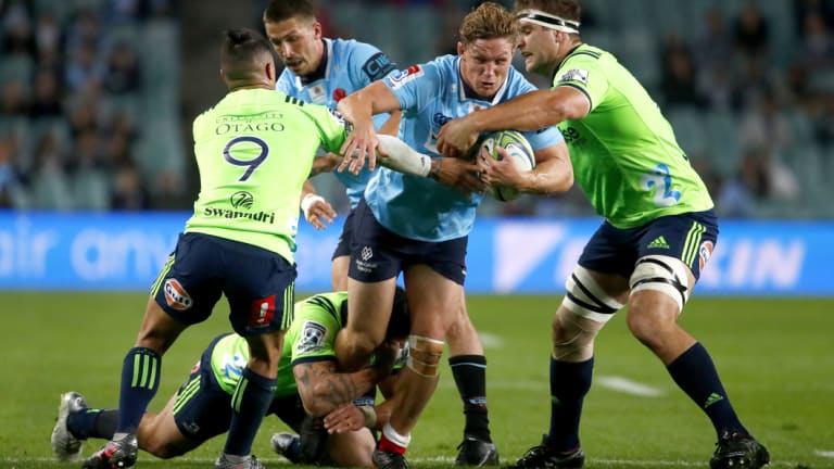 The Highlanders were the only New Zealand team the Waratahs managed to beat this season.