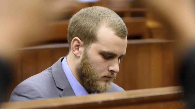 Henri Van Breda has been sentenced to three terms of life imprisonment for murdering three of his family members.