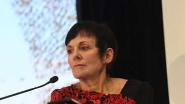 Small Business and Family Enterprise Ombudsman Kate Carnell.