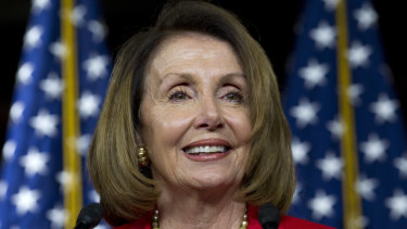 House minority leader Nancy Pelosi is confident that Democrats will retake the House.
