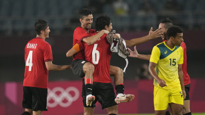 Olyroos' Tokyo dream over after crashing out at hands of Egypt