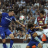 Aston Villa get first points with victory over Everton