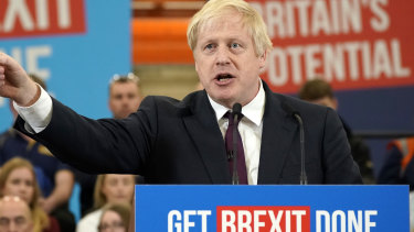 Prime Minster Boris Johnson is leading in the polls just two days before the general election.