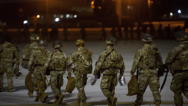 The US dispatched more troops to the Middle East after the attack.