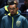 Hewitt confident injured Kyrgios can fire at inaugural ATP Cup