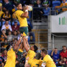 Stats highlight how badly Wallabies' lineout has deteriorated