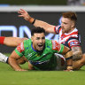 NRL 2021 LIVE updates: Sydney Roosters end Canberra Raiders' season with 40-16 thumping