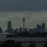Wet weekend: Heavy rain, gusty winds forecast for Sydney on Sunday