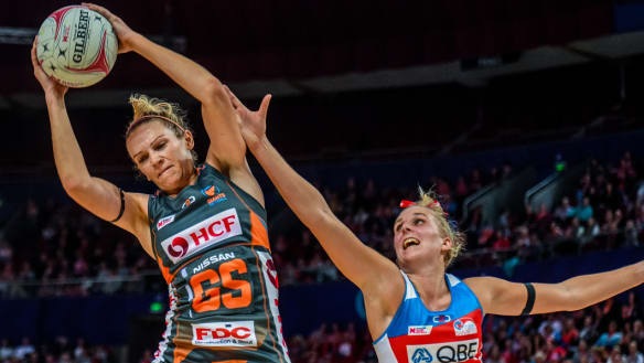 Giants prove class in derby against Swifts and look towards top spot