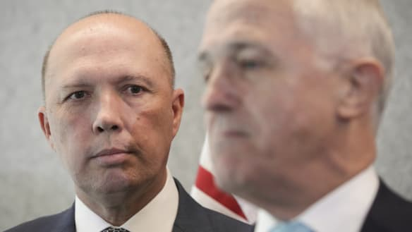 Peter Dutton does what Malcolm Turnbull doesn't