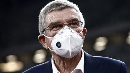 IOC president postpones Japan trip as Osaka questions Games going ahead