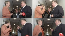 The range of emotions during the Kelly-Plibersek face-off on Wednesday.