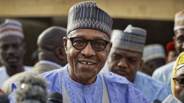 Nigeria's President Muhammadu Buhari has won a second term.