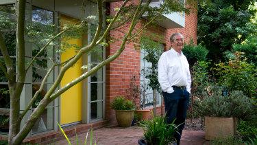 Architect Roger Pegrum.