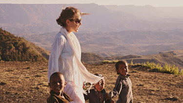 Phoebe Williams while undertaking her PhD in East Africa.
