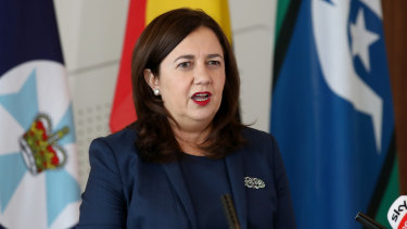 Queensland Premier Annastacia Palaszczuk was criticised for her clothing choices.
