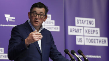 Premier Daniel Andrews has announced an easing of some lockdown rules from tonight.