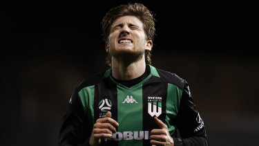 Max Burgess, playing for Western last season.
