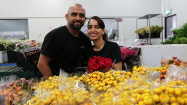 Redlands Fresh Flowers'  Jatinder and wife Mandeep Nijjar are preparing for one of their busiest days - Valentine's Day 2020.