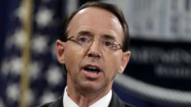 Deputy Attorney-General Rod Rosenstein has reportedly offered his resignation.