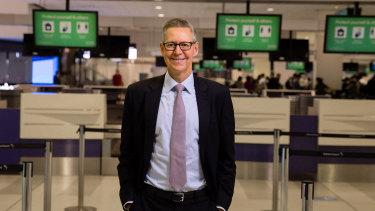 Sydney Airport CEO Geoff Culbert.
