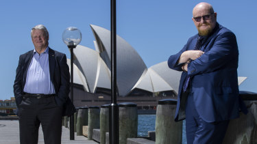 Trafalgar Entertainment Group's Sir Howard Panter and Tim McFarlane have revealed plans to invest in up to three theatres in Sydney.
